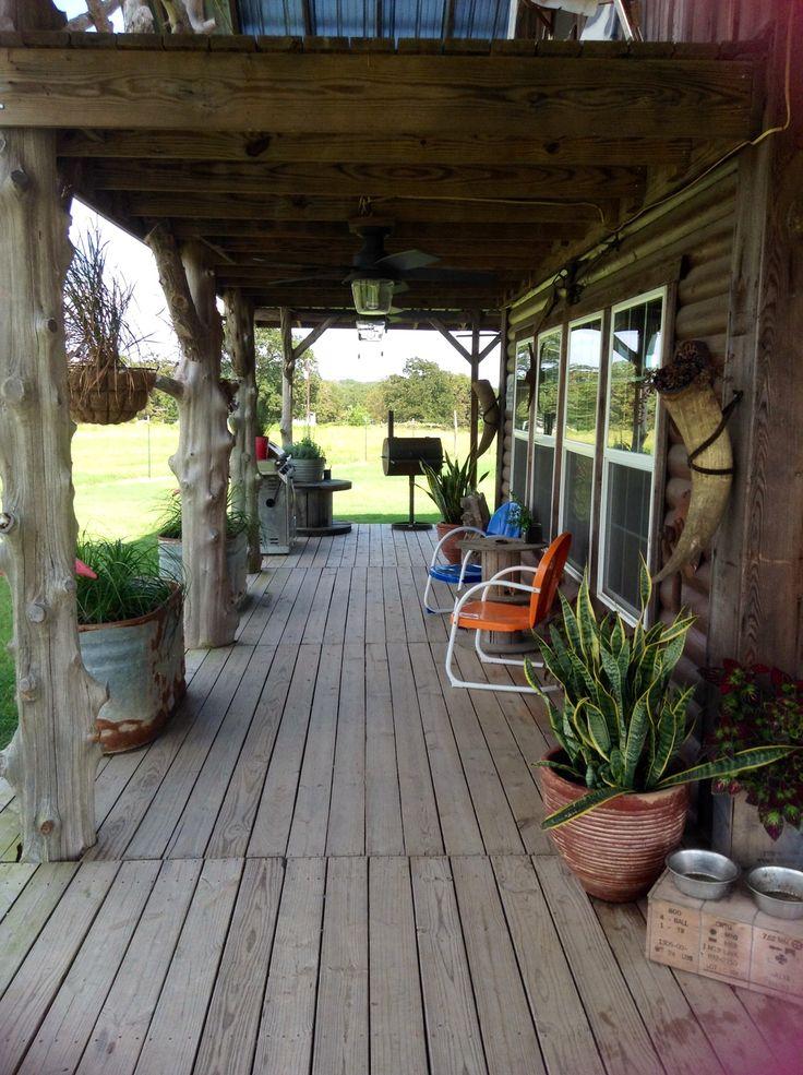 Rustic porches joy studio design gallery best design for Pole barn with porch