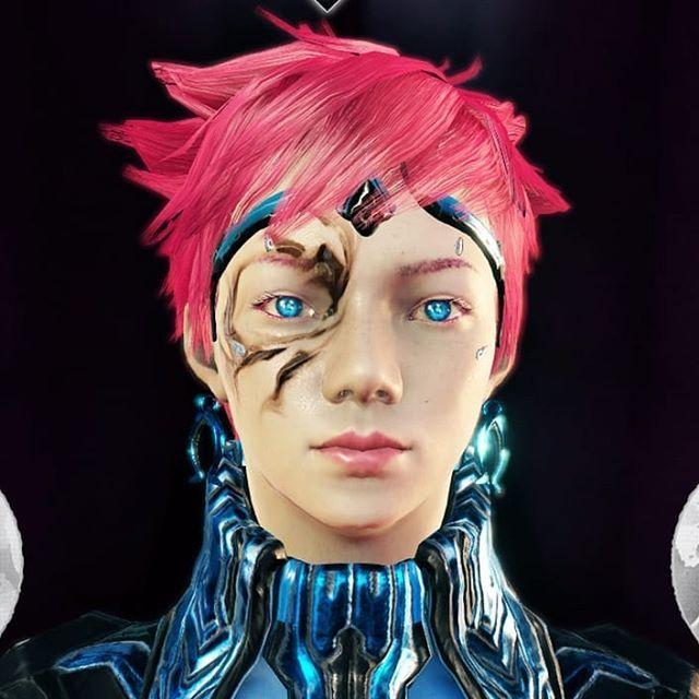 My Operator In Warframe Warframe Operator Skyheartdemon Youtube Pinkhair Blueeyes Tenno Blue Koppa Glowing Thisiswho Pink Hair Blue Eyes Instagram