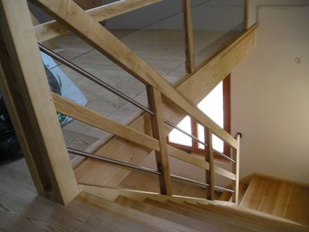 25 best ideas about rampe escalier bois on pinterest garde corps en bois - Escalier helicoidal bois metal ...