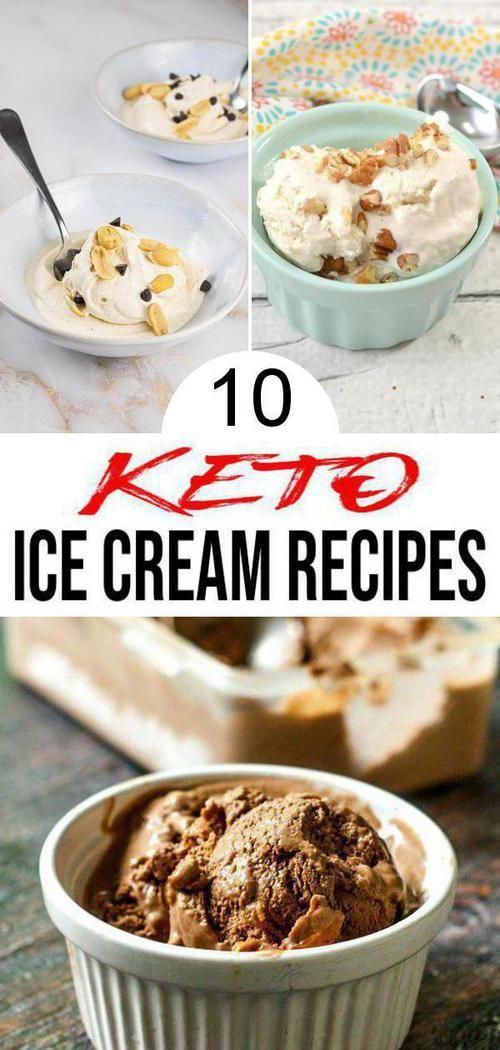 10 Keto Ice Cream Recipes Best Low Carb Ice Cream Ideas Easy