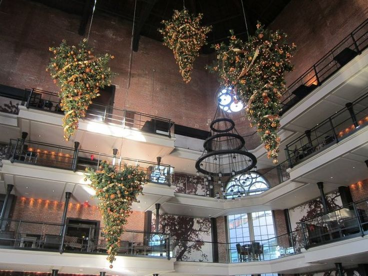 Liberty Hotel, Boston. Upside Down Trees
