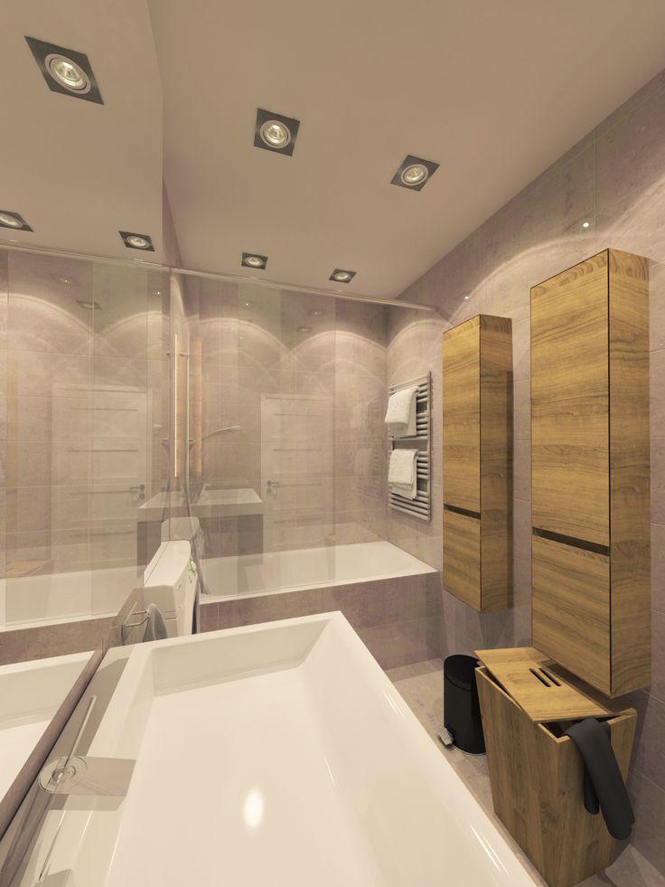 Látványterv Fürdőszoba / Architectural visualization Bathroom