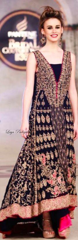 Pantene Bridal Couture Week 2014❋Laya Padigala❋ PAKISTANI FASHIONS