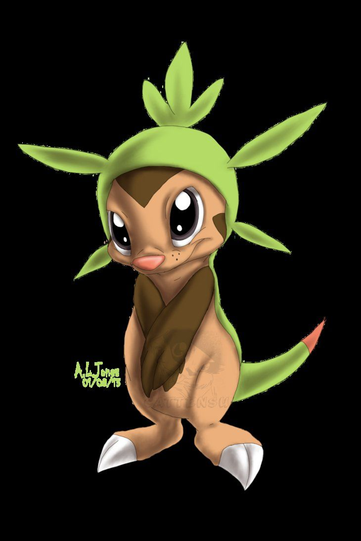 Chespin by Cattensu on DeviantArt