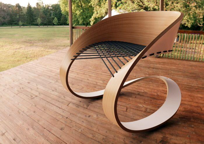 Élégante chaise super design