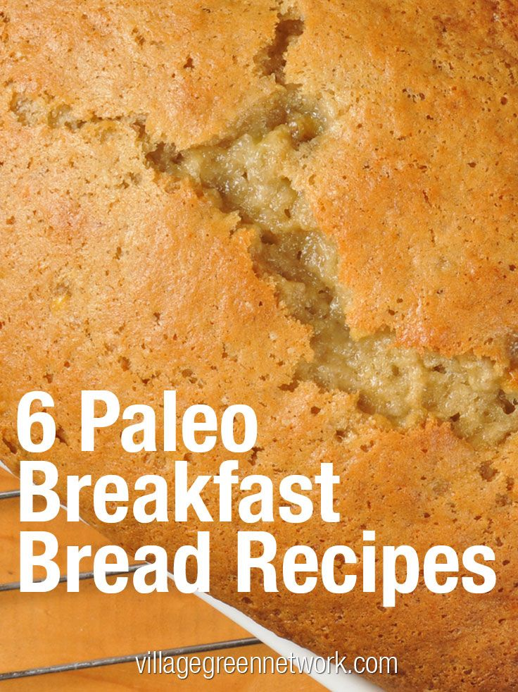 "bread is gluten free ? ""6 Paleo Breakfast Bread Recipes #paleo #bread ..."