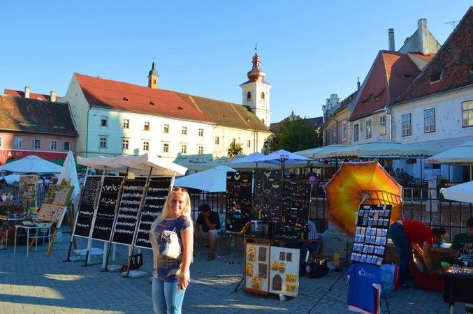 Visit Sibiu Romania Top travel destination for 2015. Budget-friendly romanian city.