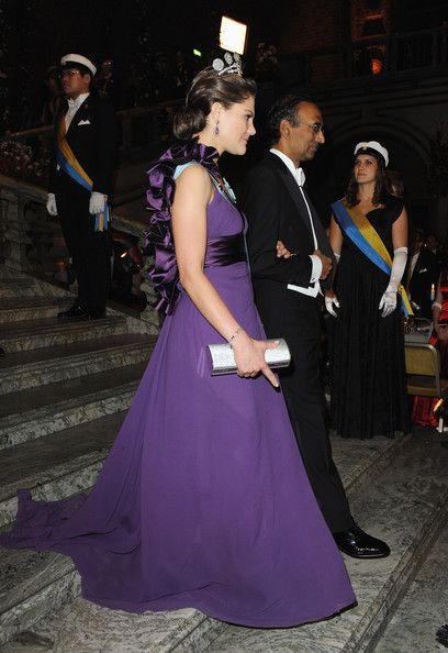 Crown princess Victoria, Nobel Banquet 2009.