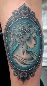 cameo tattoo, seriously - discovering so many of these now is starting to temp me...