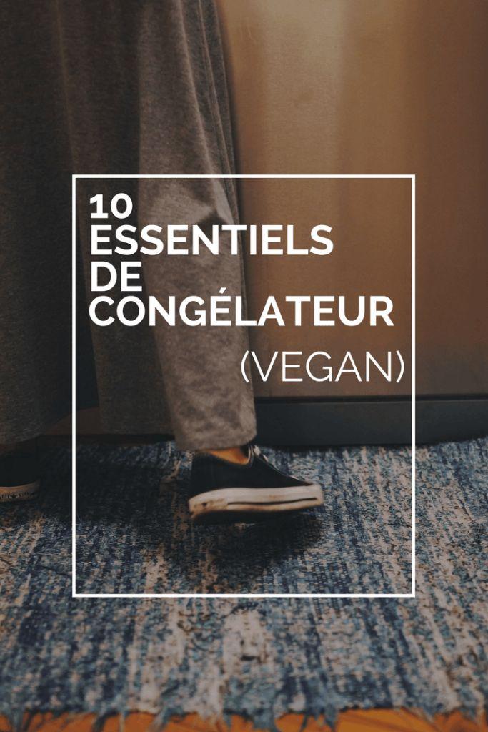 10 essentiels que vous deviez toujours avoir dans le congélateur (vegan)