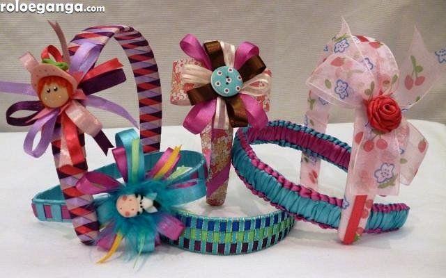 Cintillos decorados al mayor niñas y adolescentes