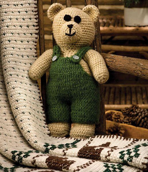 Fuzzy Bear - Talking Crochet Newsletter - July 16, 2013 - Vol. 10 No. 14