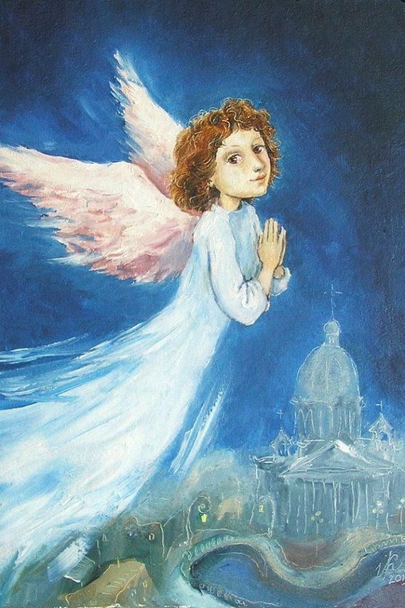 Красной, православные открытки ангелов