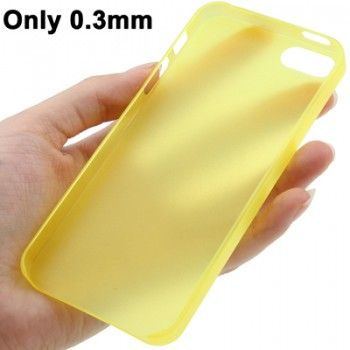 0.3mm Ultra Slim iPhone 5 & 5s Case - Yellow
