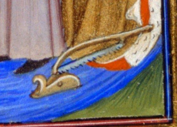 The plane of Christine de Pizan, dated 1410-1420