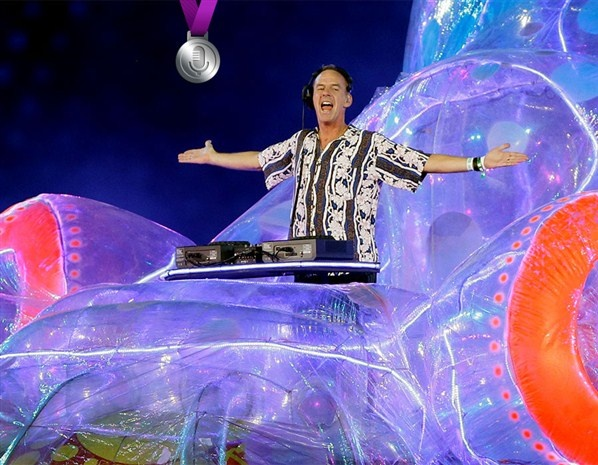 Closing ceremony London Olympics 2012 - Fat Boy Slim