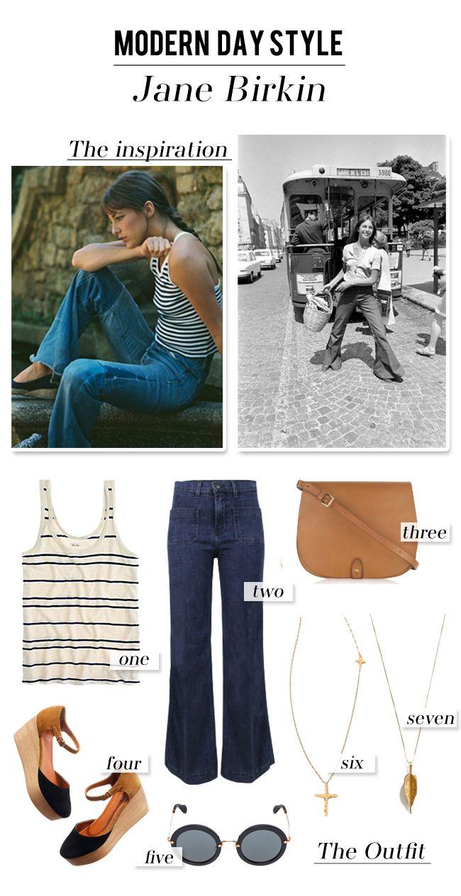 Modern Day Style :: Jane Birkin