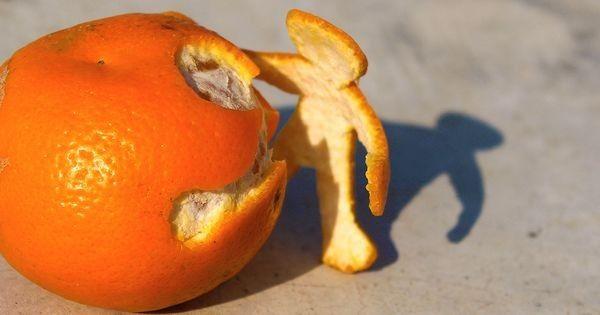 Orangenschalen nicht wegwerfen – 17 Tricks für Zitrusschalen
