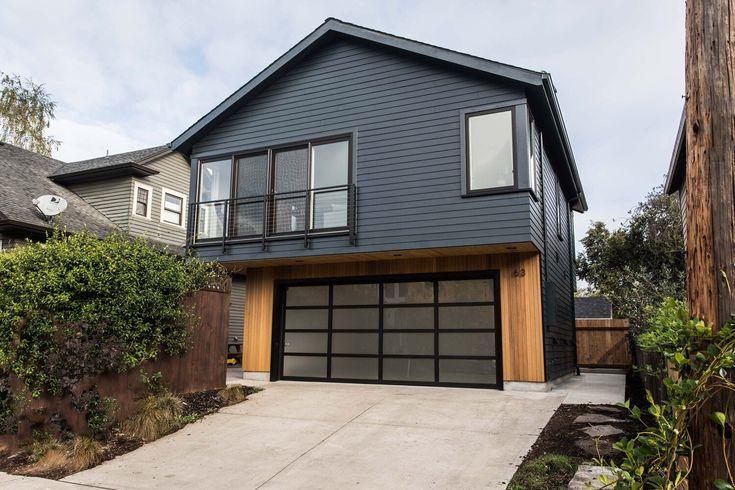 The Overhang Adu Propel Studio Architecture Portland Oregon Studios Architecture Cool House Designs Backyard Guest Houses