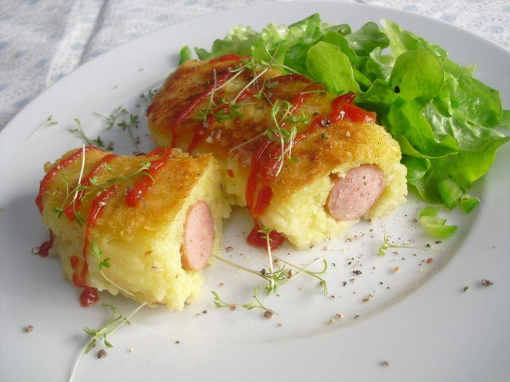 Wiener im Kloßteig