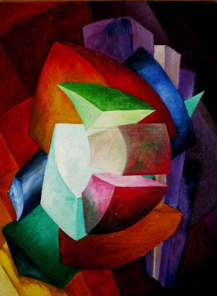 Título: Tiempos Modernos - Oleo (60x45cm) - San Luis Argentina - Alejandra Etcheverry