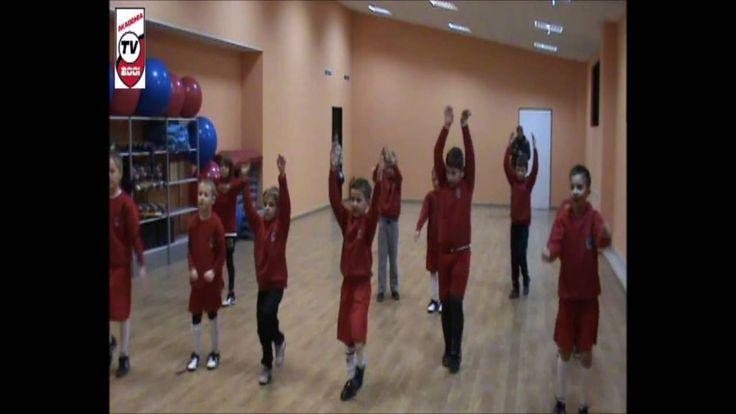 Fitness: Zajęcia ogólnorozwojowe młodych piłkarzy. 2010-03-12
