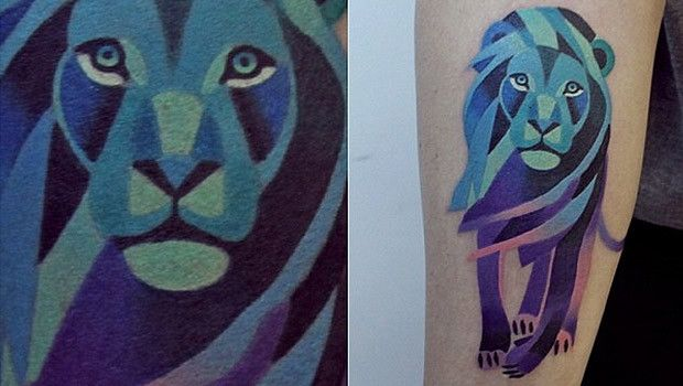 sasha russian artist vectorial lion tattoos pinterest l we. Black Bedroom Furniture Sets. Home Design Ideas