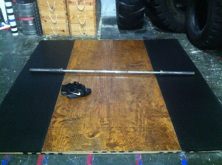 Learn how to build an olympic weightlifting platform without breaking the bank. It's quite simple and spending several hundred dollars is not necessary.