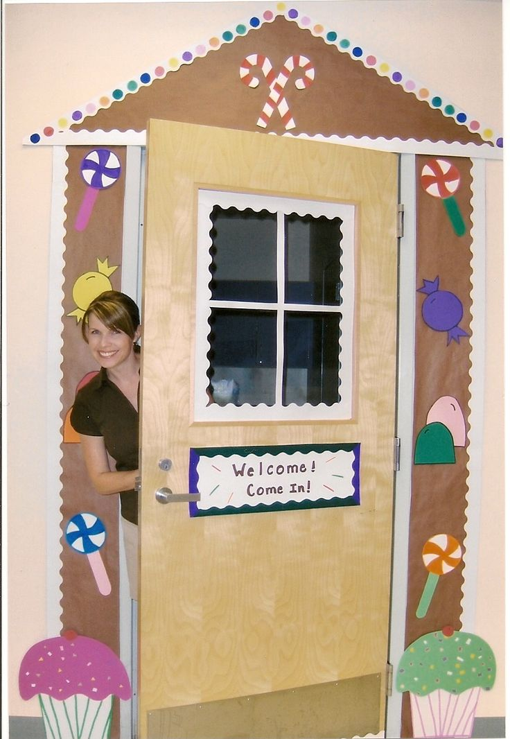 102 best images about gingerbread man loose in the school for Idea fire door