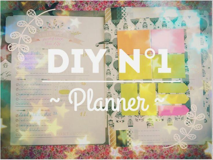 DIY N°1 ~ Fabriquer un planner