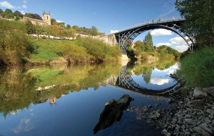 The Iron Bridge & Tollhouse