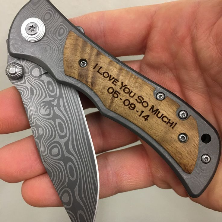 I love you Christmas gift for men, personalized hunting pocket knife, perfect Christmas gift for him, best Christmas gift for husband.