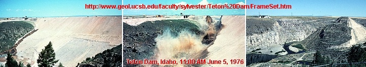 teton dam flood | PLEISTOCENE & HISTORIC FLOODS