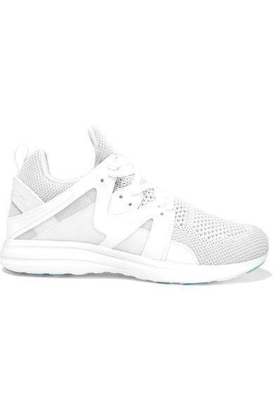 Athletic Propulsion Labs - Ascend Mesh And Rubber Sneakers - White - US10.5