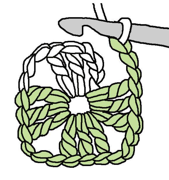 Si estás aprendiendo a tejer a crochet, no te pierdas este tutorial.