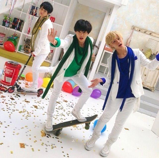 Takuya,Kai,and Yusuke Choutokkyuu japanese boyband