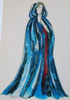 "Phantom of the Opera, Christine's ""Mausoleum"" costume, (Maria Bjornson)"