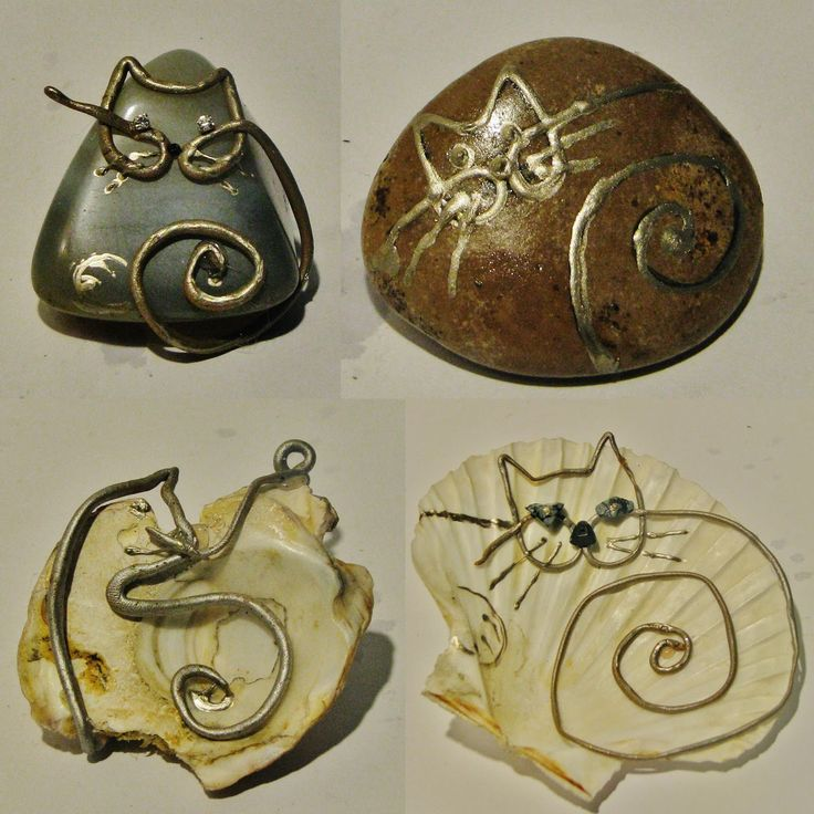 Ideas art for everyone, DIY - Joanna Wajdenfeld: Cats with modeling clay on the…