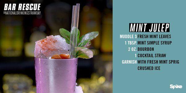 The 10 best bar rescue recipes images on pinterest cocktails mint julep forumfinder Images