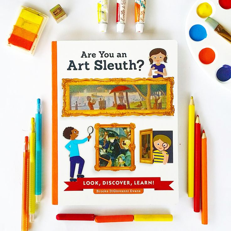 """Are You An Art Sleuth offers a terrific introduction to """"proper art"""" and it's pitched perfectly at children."""