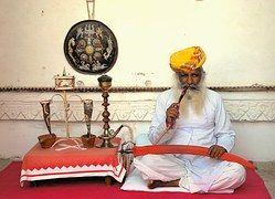 Smoker, Opium, India, Palace, Maharajah