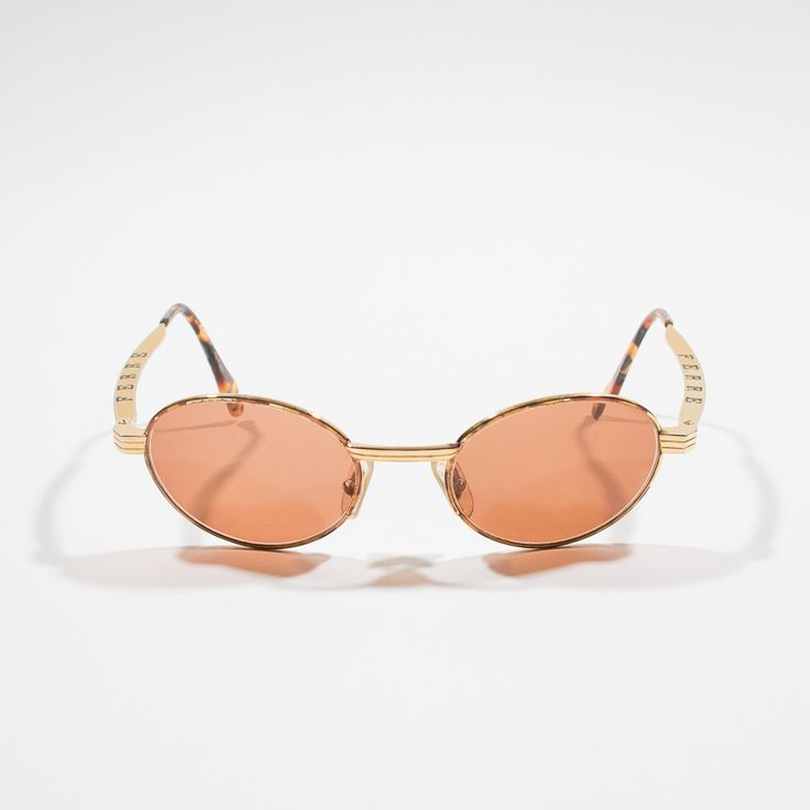 ✦ CLICK TO BUY ✦ GIANFRANCO FERRE' - Metal sunglasses - occhiali da sole in metallo - Millesimè vintage clothing & accessories