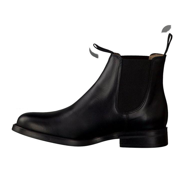 kmb Chelsea-Stiefeletten für Damen in Schwarz Chelsea-Stiefeletten 392649 schwarz Leder - Damenschuhe im Online-Shop von GISY Schuhe