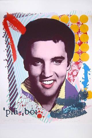 Richard Duardo Art | Elvis Playboi by Richard Duardo at David Lawrence Gallery - Printed ...