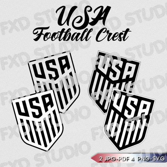 Usa International Soccer Crest Clip Art Image Usa Football In 2020 International Soccer Clip Art 2026 Fifa World Cup
