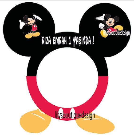 Mickey Mouse / Minnie Mouse marco de cabina por lilysmagicalworld