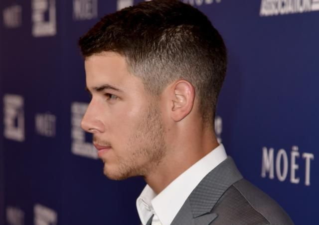 The Evolution of Nick Jonas' Hair: Nick Jonas' Hair:  The Fade
