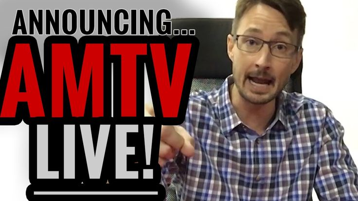 Announcing AMTV Live!! (Subscribe On Demand)