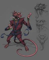 Master Splinter by Teratophile