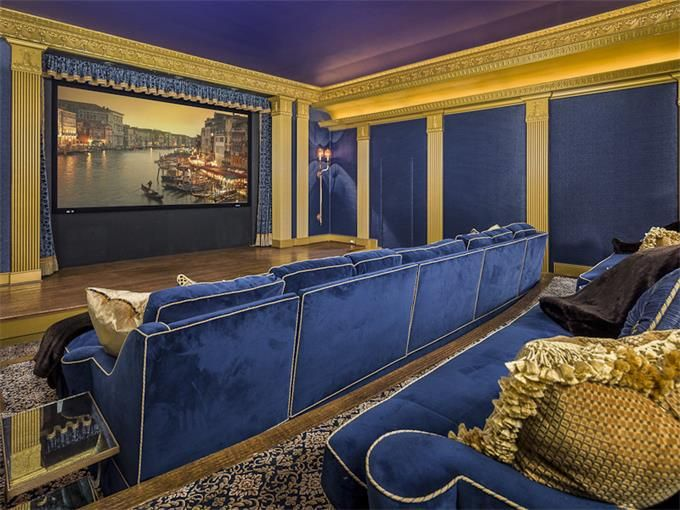 23 best media rooms images on pinterest home theaters for Homes for sale with theater room